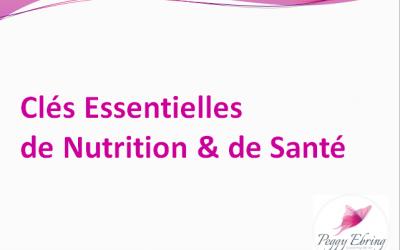 Nutrition et santé : des clés essentielles qui amélioreront votre bien-être